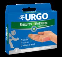URGO BRULURES-BLESSURES PETIT FORMAT x 6 à MONTGISCARD