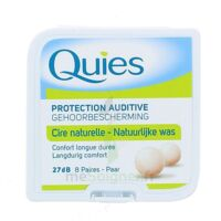 QUIES PROTECTION AUDITIVE CIRE NATURELLE 8 PAIRES à MONTGISCARD