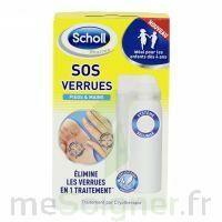 Scholl SOS Verrues traitement pieds et mains à MONTGISCARD