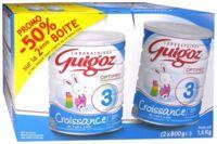 GUIGOZ LAIT CROISSANCE 3 2X800GR à MONTGISCARD