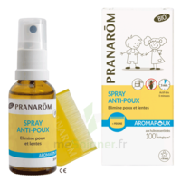 Pranarôm Aromapoux Bio Spray anti-poux 30ml+peigne à MONTGISCARD