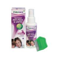 Paranix Solution antipoux Huiles essentielles 100ml+peigne à MONTGISCARD