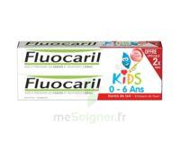 Fluocaril Kids Gel dentifrice Fraise 0/6ans 2*50ml à MONTGISCARD