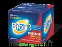 Bion 3 Défense Junior Comprimés à croquer framboise B/30 à MONTGISCARD