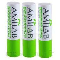 Amilab Baume labial réhydratant et calmant lot de 3 à MONTGISCARD