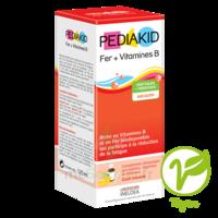 Pédiakid Fer + Vitamines B Sirop banane 125ml à MONTGISCARD