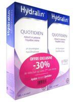 Hydralin Quotidien Gel lavant usage intime 2*200ml à MONTGISCARD