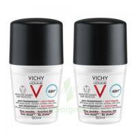 Vichy Homme Déodorant anti-transpirant anti trace 48H 2*Billes/50ml à MONTGISCARD