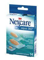 Nexcare Aqua 360° Pansements 3 tailles B/14 à MONTGISCARD