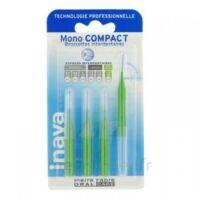 Inava Mono Compact Brossette Extra-large Vert Blister/4 à MONTGISCARD